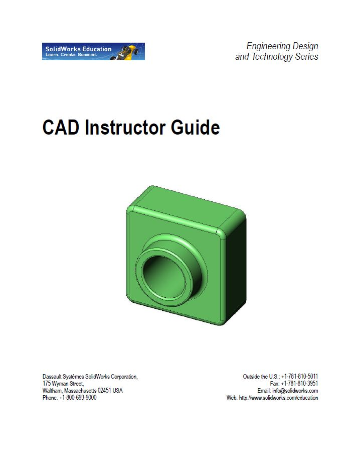 CAD Instructor Guide